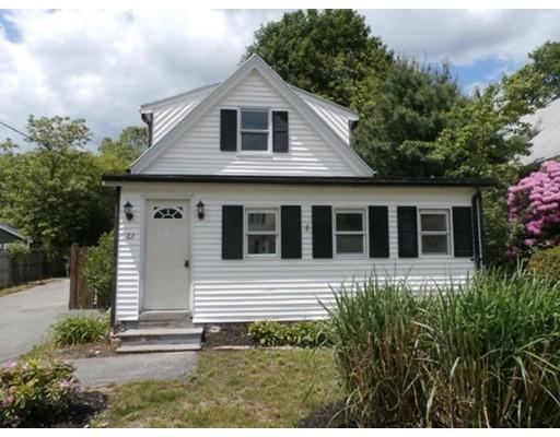 واحد منزل الأسرة للـ Sale في 63 Highland Street Avon, Massachusetts 02322 United States