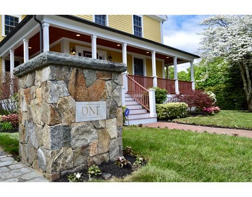 Частный односемейный дом для того Продажа на 1 Stonefield Circle 1 Stonefield Circle Winchester, Массачусетс 01890 Соединенные Штаты