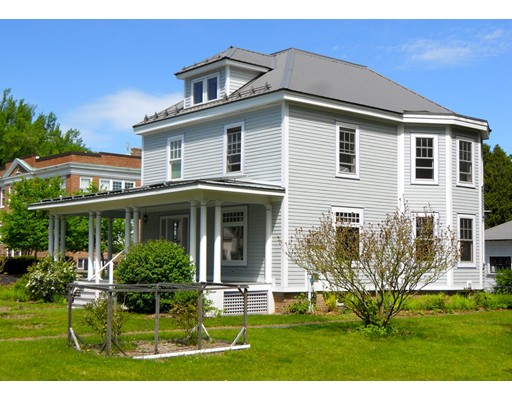 Single Family Home for Sale at 6 School Street 6 School Street Sunderland, Massachusetts 01375 United States