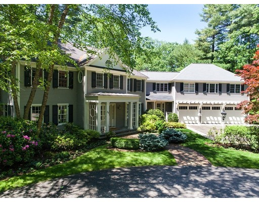 Maison unifamiliale pour l Vente à 32 Claypit Hill Road 32 Claypit Hill Road Wayland, Massachusetts 01778 États-Unis