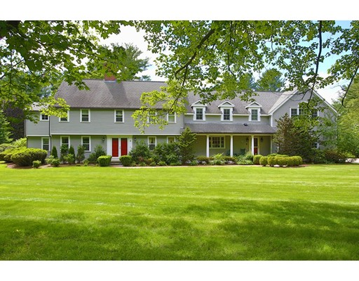 Single Family Home for Sale at 6 Draper Road Wayland, Massachusetts 01778 United States