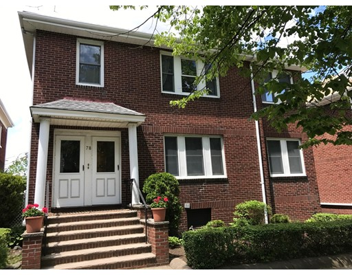 Single Family Home for Rent at 78 Lawton Street Brookline, Massachusetts 02446 United States
