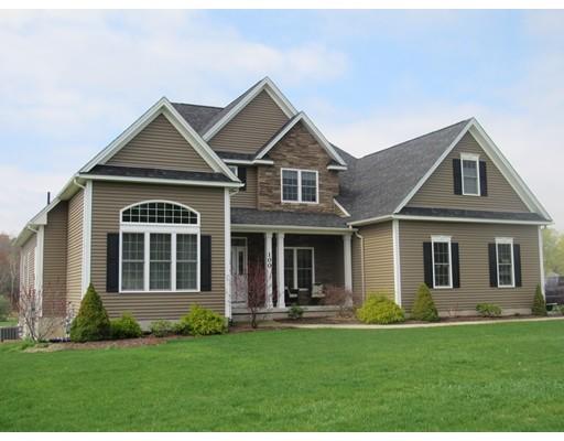 Casa Unifamiliar por un Venta en 100 Gunn Road 100 Gunn Road Southampton, Massachusetts 01073 Estados Unidos