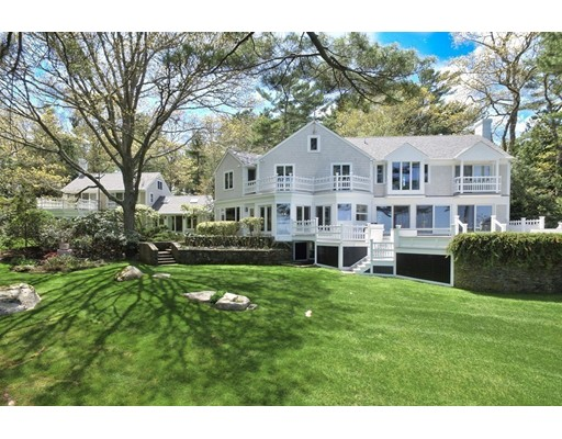 Casa Unifamiliar por un Venta en 37 Piney Point Road Marion, Massachusetts 02738 Estados Unidos