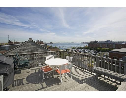 独户住宅 为 出租 在 338 Commercial Street 波士顿, 马萨诸塞州 02109 美国