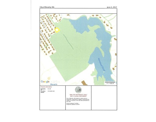 Terrain pour l Vente à 20 Elnew Beverly, Massachusetts 01915 États-Unis