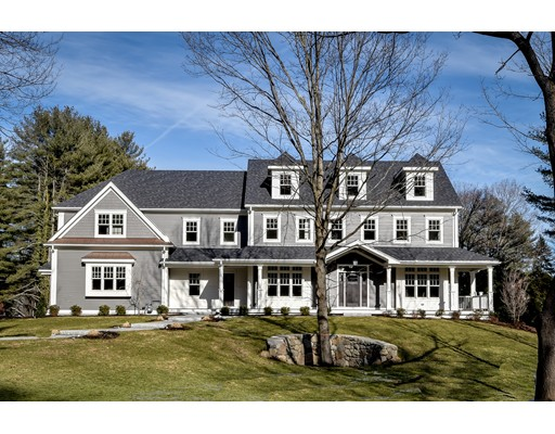 Частный односемейный дом для того Продажа на 11 Training Field Road 11 Training Field Road Wayland, Массачусетс 01778 Соединенные Штаты