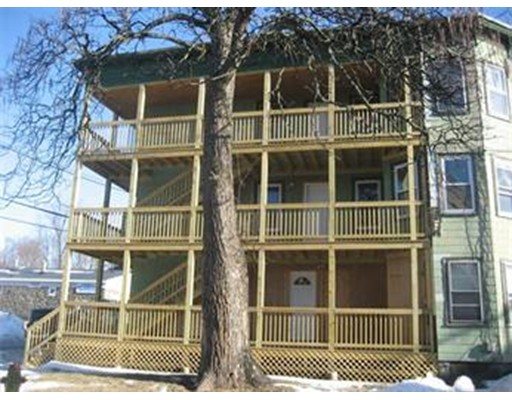 Single Family Home for Rent at 3 Pratt Street Fitchburg, Massachusetts 01420 United States