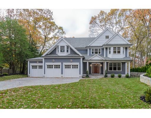 Casa Unifamiliar por un Venta en 30 Bradford Road 30 Bradford Road Wellesley, Massachusetts 02481 Estados Unidos