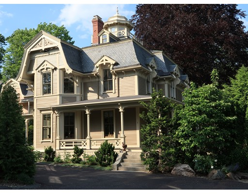 Single Family Home for Sale at 483 Pleasant Street Belmont, Massachusetts 02478 United States
