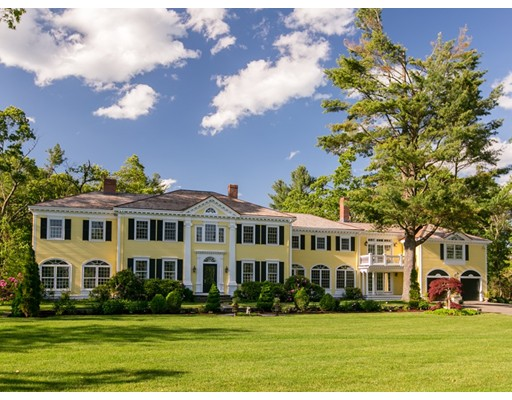 Casa Unifamiliar por un Venta en 525 Lexington Road 525 Lexington Road Concord, Massachusetts 01742 Estados Unidos