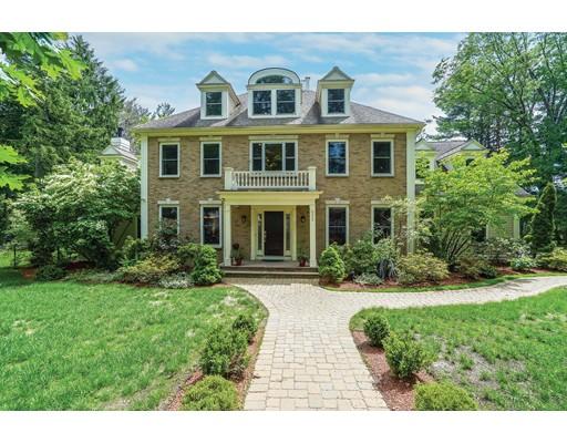 独户住宅 为 销售 在 333 Brookline Street 牛顿, 马萨诸塞州 02459 美国