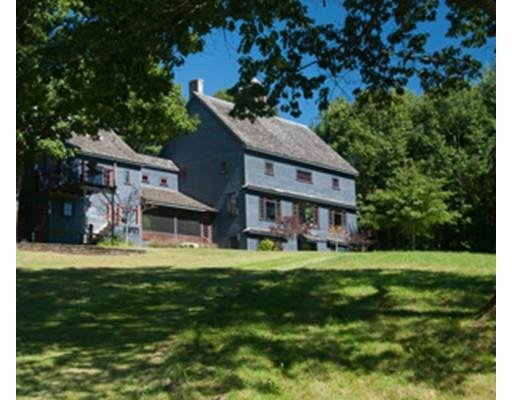 Maison unifamiliale pour l Vente à 160 George Lamb Road 160 George Lamb Road Leyden, Massachusetts 01337 États-Unis