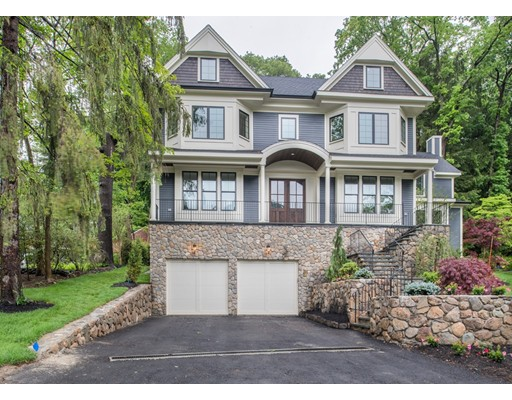 Single Family Home for Sale at 52 Rokeby Road Newton, Massachusetts 02468 United States