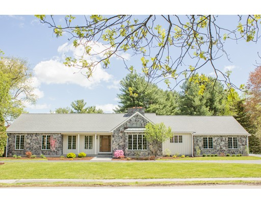 Single Family Home for Sale at 140 Porter Street Westwood, Massachusetts 02090 United States