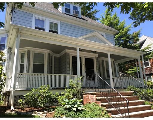 Single Family Home for Rent at 41 Irving Street Newton, Massachusetts 02459 United States