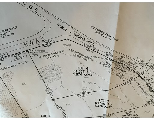 Land for Sale at 4 Dodge Road 4 Dodge Road Rowley, Massachusetts 01969 United States
