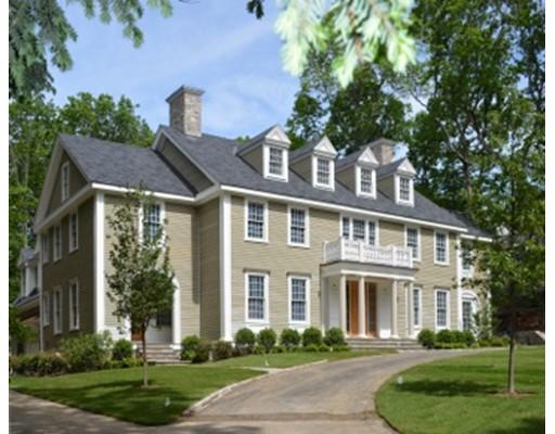 Частный односемейный дом для того Продажа на 65 Bristol Road Wellesley, Массачусетс 02481 Соединенные Штаты