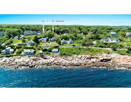 Casa Unifamiliar por un Venta en 59 EDEN ROAD Rockport, Massachusetts 01966 Estados Unidos