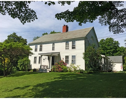 Casa Unifamiliar por un Venta en 271 Old Greenfield Road Shelburne, Massachusetts 01370 Estados Unidos