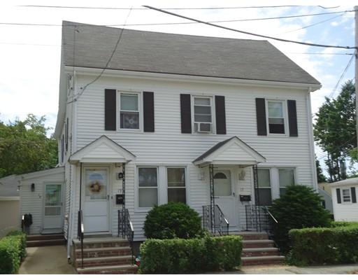 Многосемейный дом для того Продажа на 17 Conn Street Woburn, Массачусетс 01801 Соединенные Штаты
