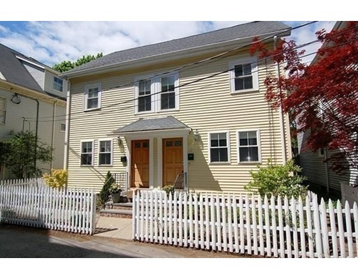 Single Family Home for Rent at 2 Reed Street Court Cambridge, Massachusetts 02140 United States