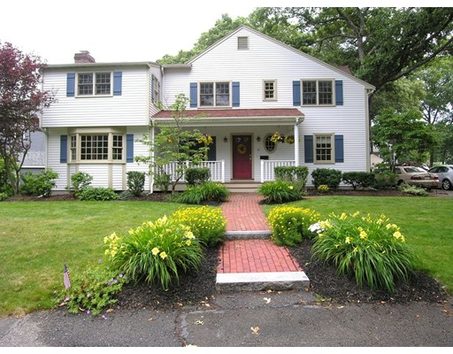 Single Family Home for Sale at 43 Harwood Road Natick, Massachusetts 01760 United States