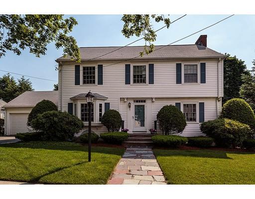 Частный односемейный дом для того Продажа на 167 Lewis Road Belmont, Массачусетс 02478 Соединенные Штаты