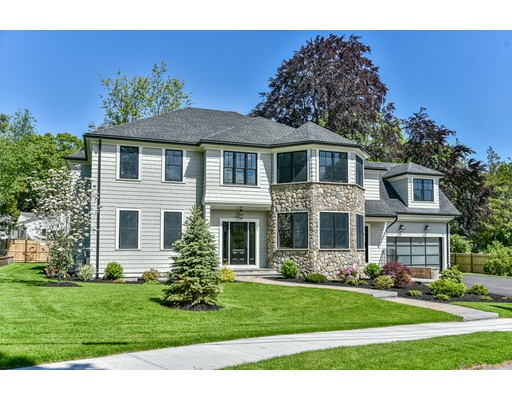 Single Family Home for Sale at 93 Ruane Road Newton, Massachusetts 02465 United States
