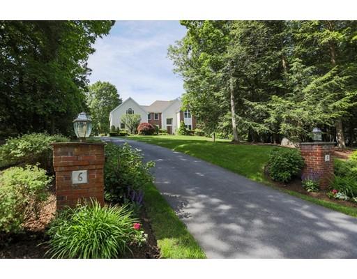 واحد منزل الأسرة للـ Sale في 6 Nokomis Way Natick, Massachusetts 01760 United States