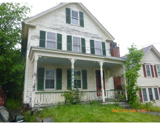 Single Family Home for Sale at 11 Central Street Ashburnham, Massachusetts 01430 United States