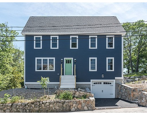 Stylistic Brand New Home, with Quality Craftsmanship through-out. Attention to Detail with a thoughtful Design touch. Front to Back Living Room with Gas Fireplace & French Door (s) out to Deck. Chef's Kitchen with Granite Counters & SS Appliances. Over-Sized Island with additional storage Overlooks Dining Room. Great Entertainment Space for Friends & Family. Discreetly placed 1/2 Bath & Laundry complete the 1st Level. 2nd Floor has 4 Bedrooms & 2 Full Baths, including Spacious Master En-Suite. But wait, there's more. Great additional Space on 3rd Level for Multi-Purpose Use. Hardwood Floors Through-Out, Crown Molding, Top-Notch Tiling in all Baths, Well Chosen Choices in Lighting, & Room Colors. Central - Air, Stone Walls,+ Rare 1 Car Under Garage. All sitting up high on a private lot. Convenient Location. Worth the Trip.