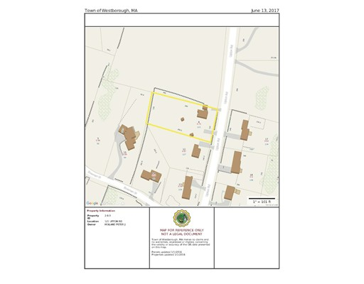 Land for Sale at 121 Upton Road Westborough, Massachusetts 01581 United States