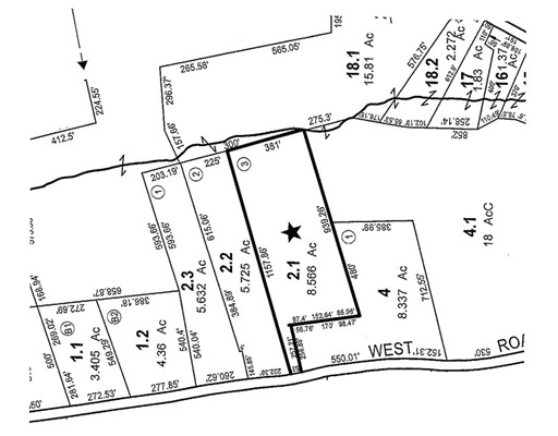 Terrain pour l Vente à West Street Lot 3 Wendell, Massachusetts 01379 États-Unis
