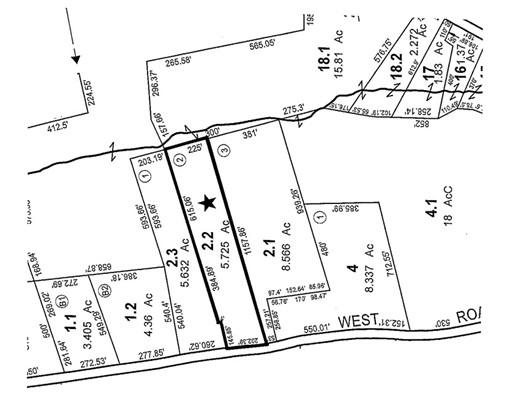 Land for Sale at West Street Lot 2 Wendell, 01379 United States