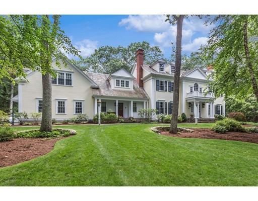 Single Family Home for Sale at 190 Winding River Road Wellesley, Massachusetts 02482 United States
