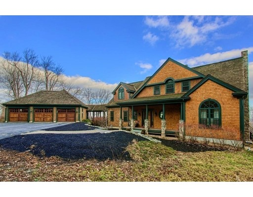 Casa Unifamiliar por un Venta en 150 Mountain Road 150 Mountain Road Princeton, Massachusetts 01541 Estados Unidos