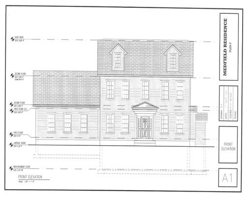 Single Family Home for Sale at 1 High Street 1 High Street Medfield, Massachusetts 02052 United States