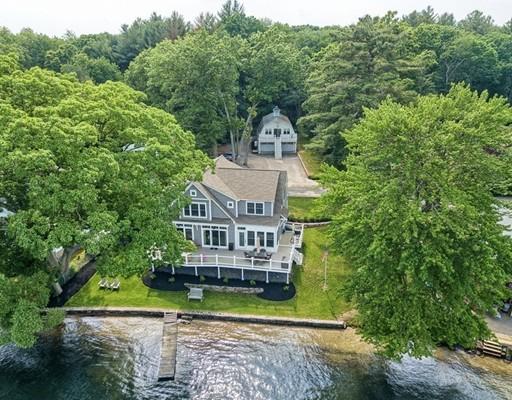 Maison unifamiliale pour l Vente à 128 Barton Road Stow, Massachusetts 01775 États-Unis