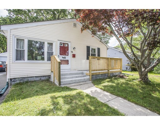 Single Family Home for Sale at 74 Viola Avenue East Providence, Rhode Island 02915 United States
