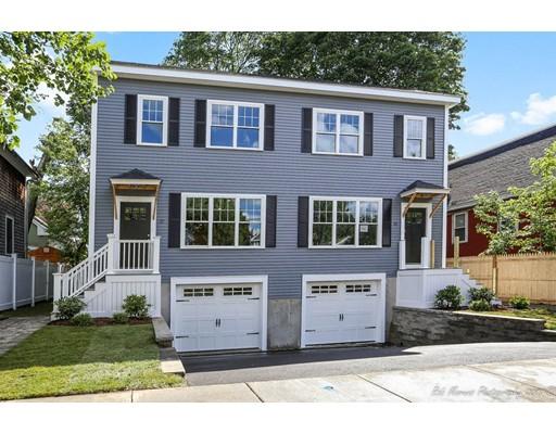 Appartement en copropriété pour l Vente à 37 Lincoln Street Medford, Massachusetts 02155 États-Unis