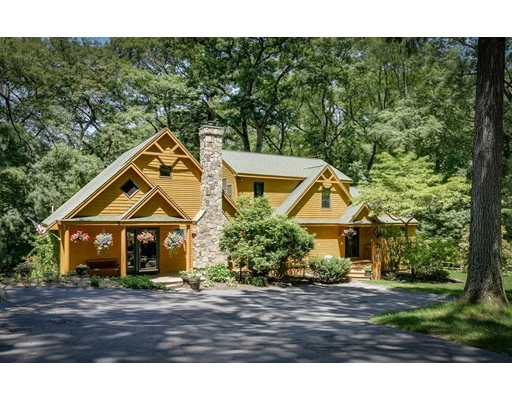 Single Family Home for Sale at 75 Evergreen Road Natick, Massachusetts 01760 United States
