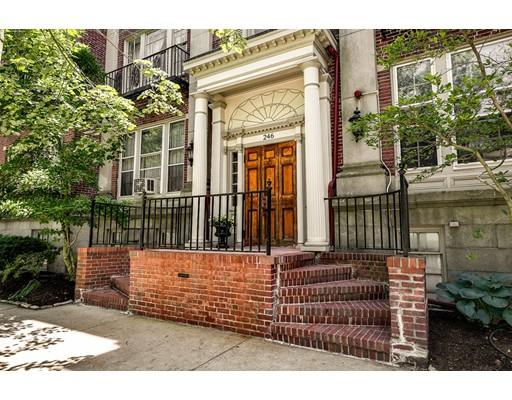 شقة بعمارة للـ Sale في 246 Brattle Street Cambridge, Massachusetts 02138 United States