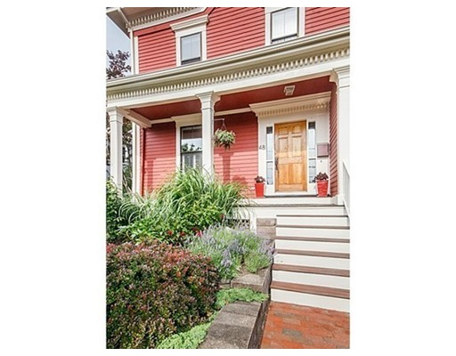 Single Family Home for Sale at 48 Haskell Street Cambridge, Massachusetts 02140 United States