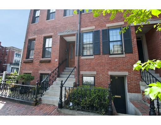 独户住宅 为 出租 在 24 Clarendon 波士顿, 马萨诸塞州 02116 美国