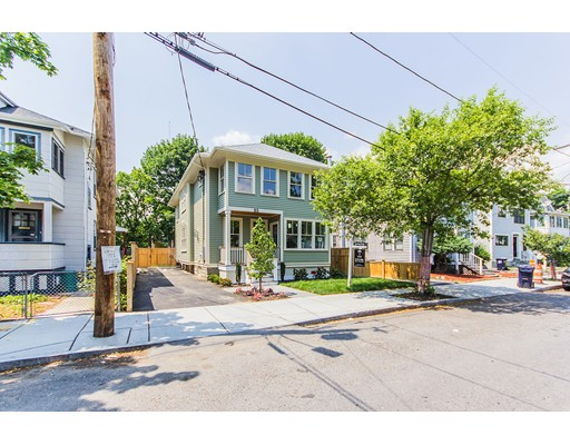 Single Family Home for Sale at 85 Alpine Street Cambridge, Massachusetts 02138 United States
