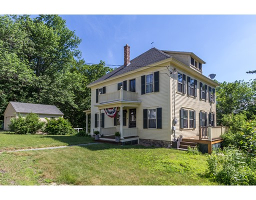 واحد منزل الأسرة للـ Sale في 8 High Street Ashburnham, Massachusetts 01430 United States