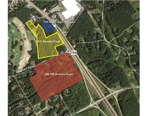 Land for Sale at Armsby Road and Route 146 Sutton, Massachusetts 01590 United States
