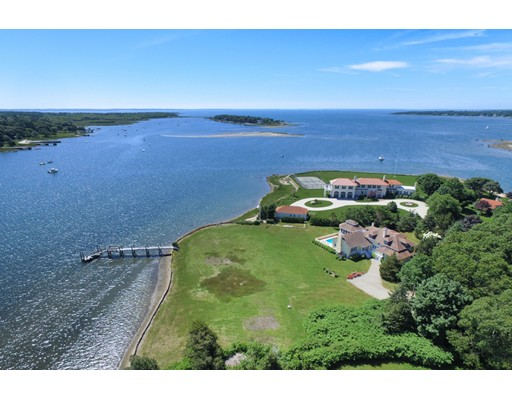 Single Family Home for Sale at 166 Allens Point Road Marion, Massachusetts 02738 United States