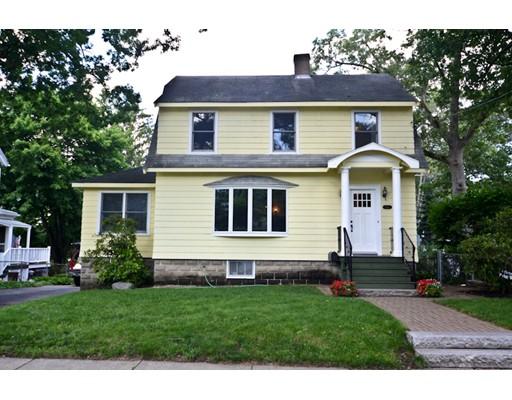 Casa Unifamiliar por un Venta en 119 Oakland Avenue Arlington, Massachusetts 02476 Estados Unidos